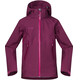 Bergans Ervik Jacket Children purple